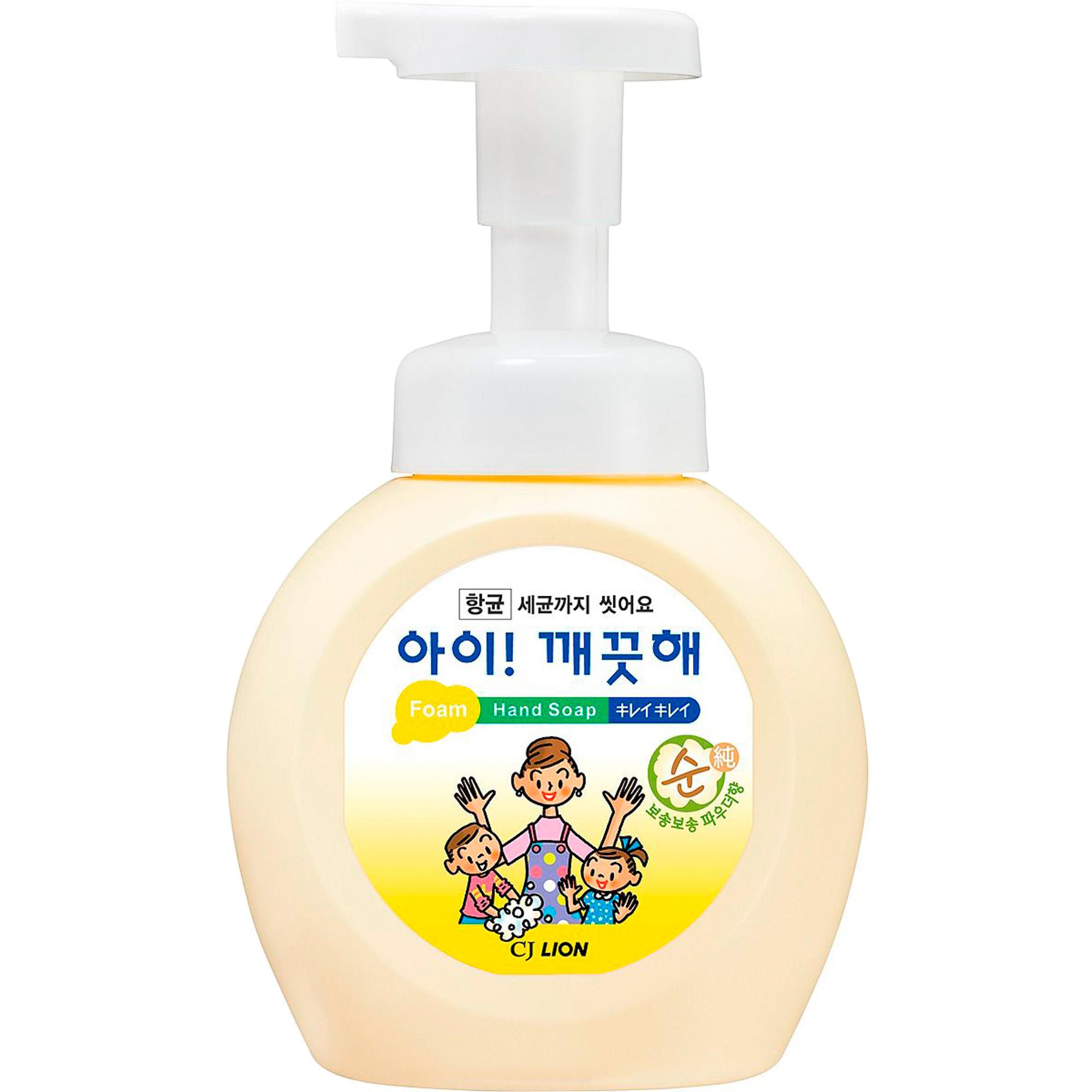Мыло пенное для рук CJ Lion Ai-Kekute С антибактериальным эффектом 250 мл