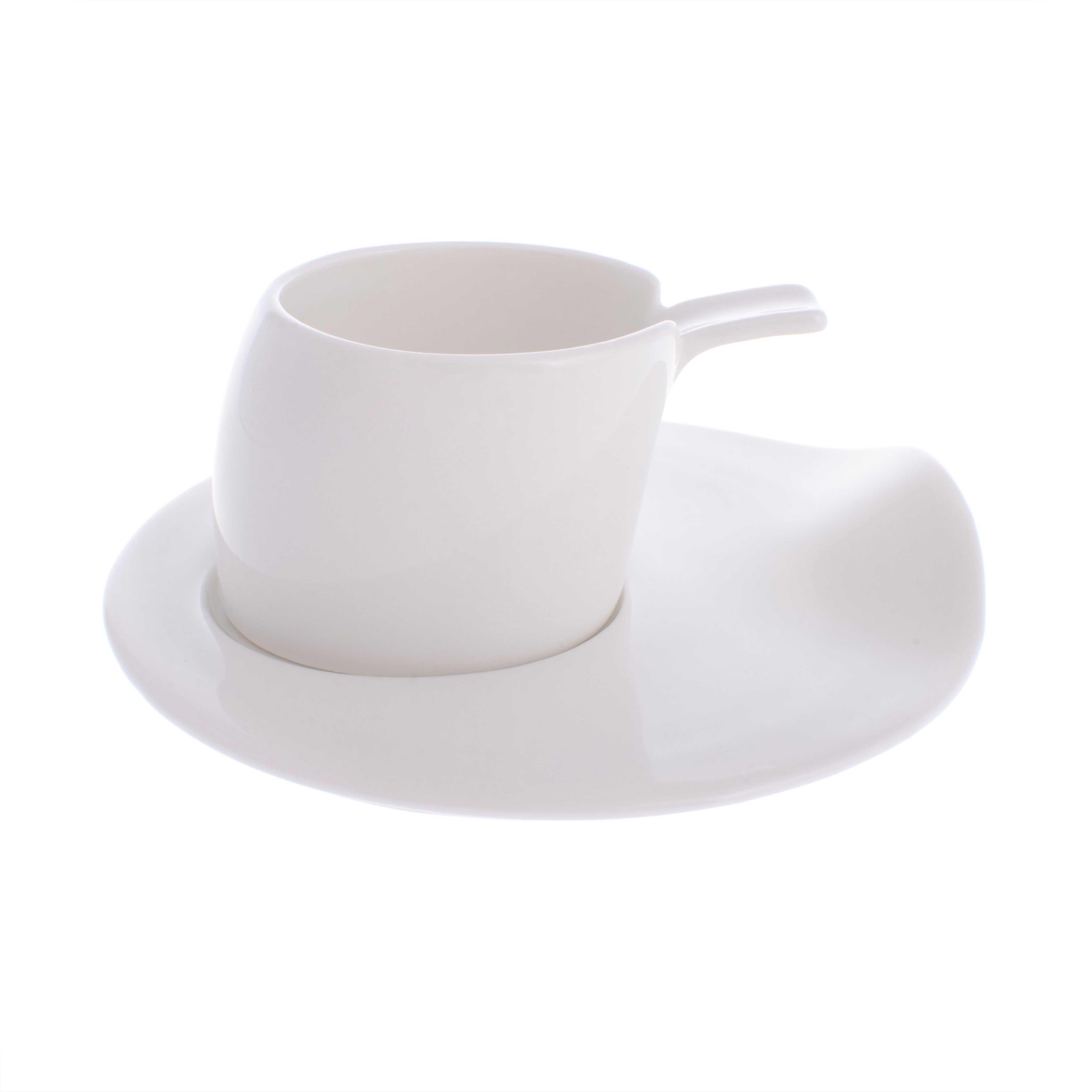 Набор кофейный 4чашки/4блюдца Deagourmet materia 171