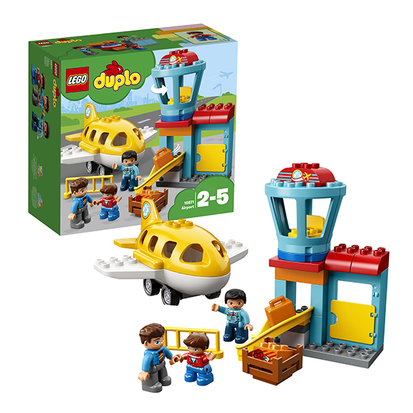Игрушка дупло аэропорт Lego 10871 lego duplo 10925 конструктор лего дупло игровая комната