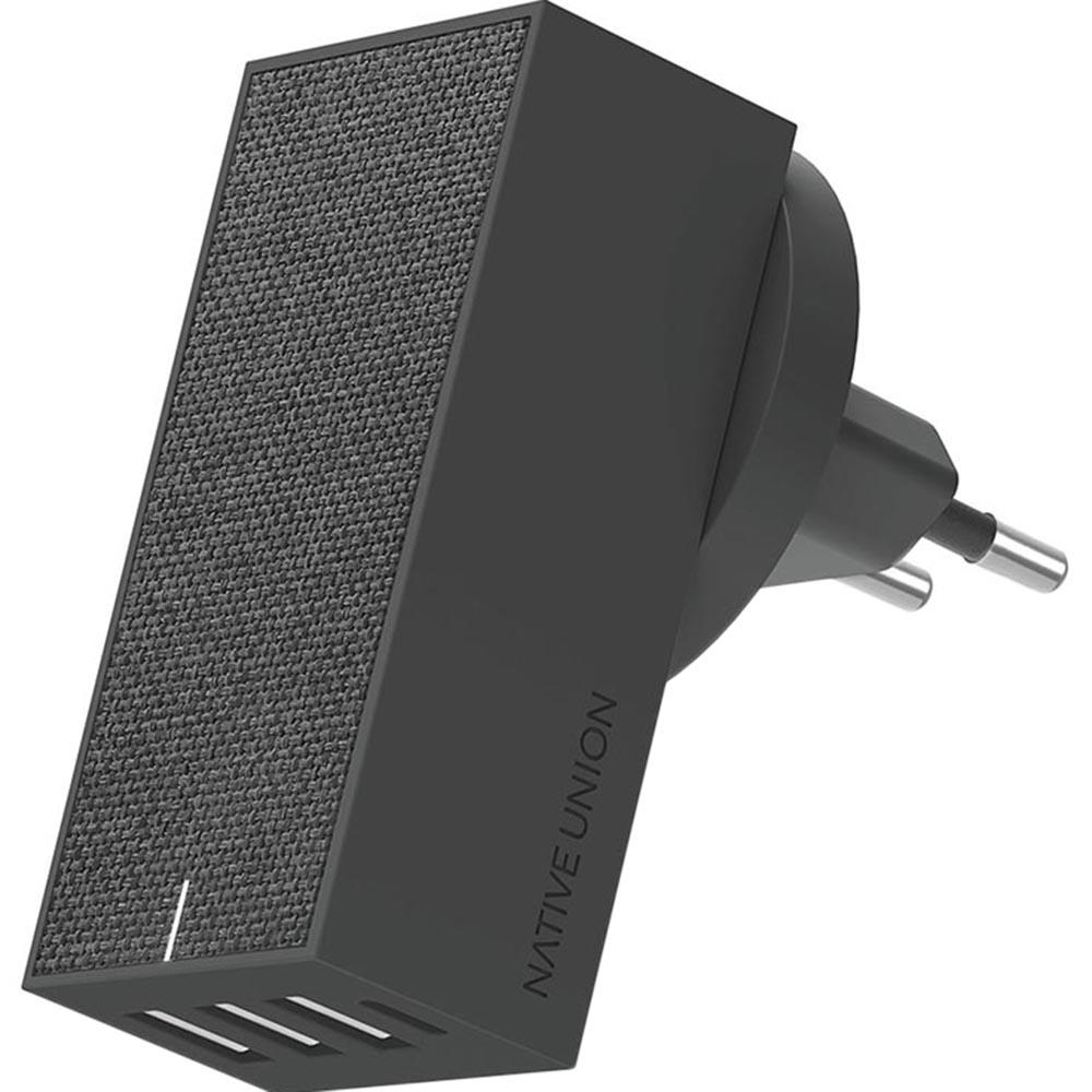 Фото - Сетевое зарядное устройство Native Union Smart 4 Charger серый сетевое зарядное устройство aukey wall charger pd 30w usb c pa y21 черное