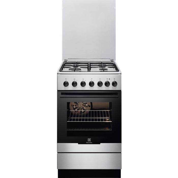 Комбинированная плита Electrolux EKK951301X газовые плиты