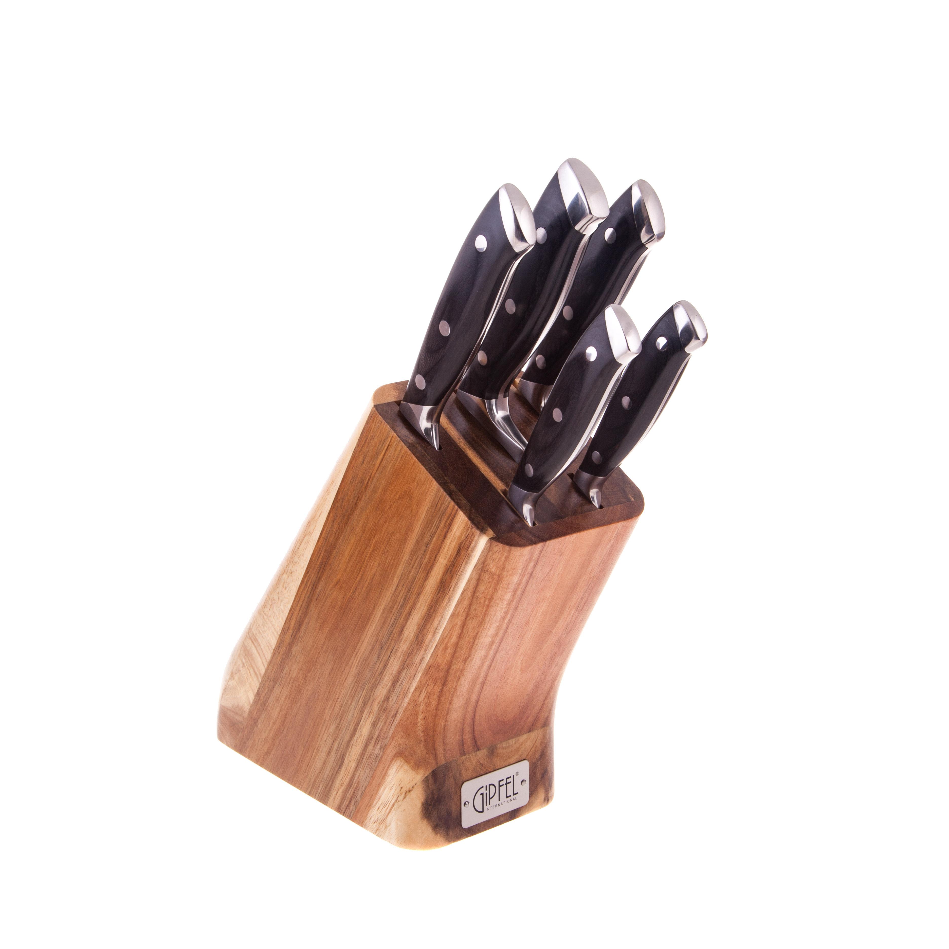 Набор ножей из 6 предметов Gipfel vilmarin 6986 набор ножей gipfel japanese 3шт