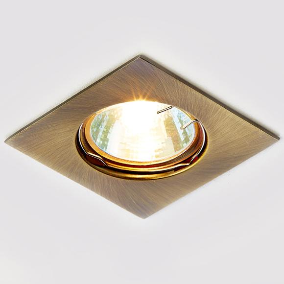 Светильник бронза mr16 Ambrella light 866A SB