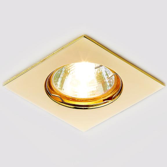 Светильник золото mr16 Ambrella light 866A GD