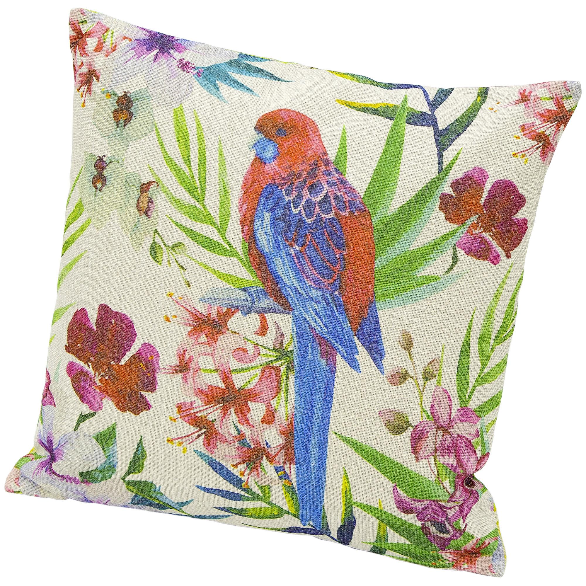 Подушка декоративная Minmetals попугай 45х45 см фото