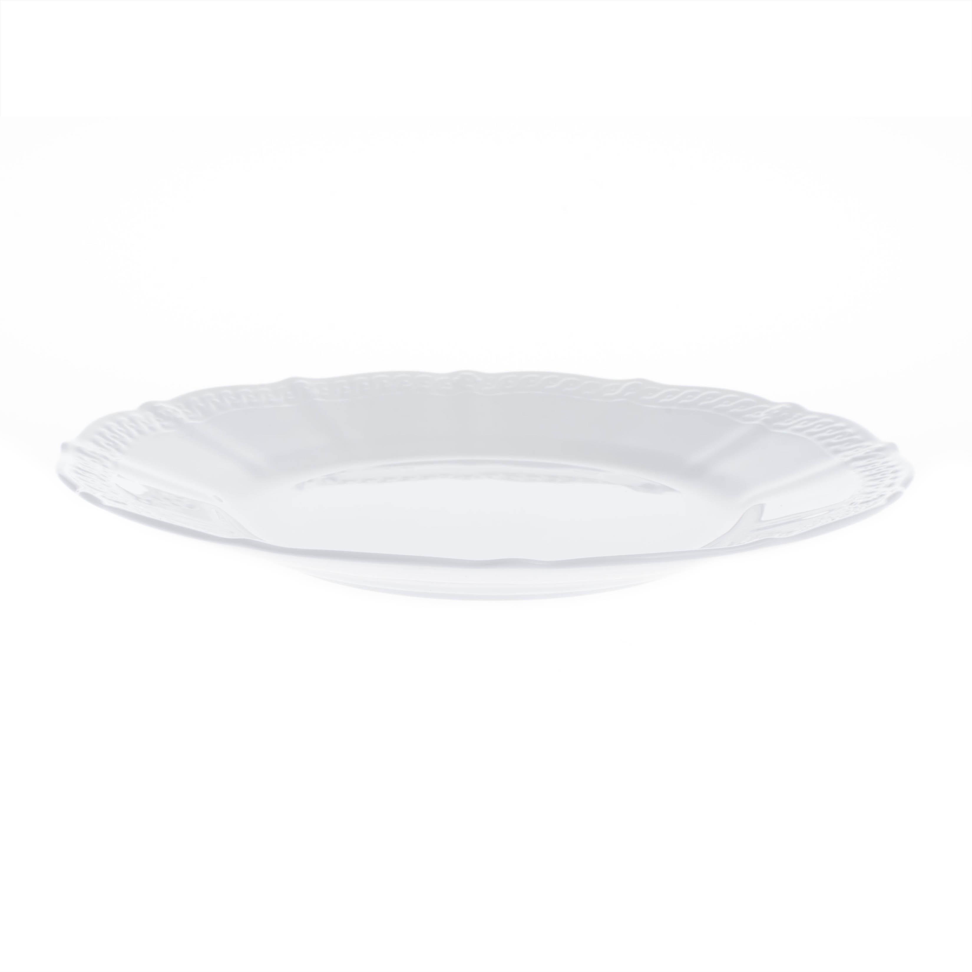 Тарелка закусочная Шер Бланк Noritake 21,5 см тарелка закусочная noritake брум стрит 22см