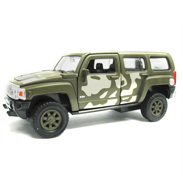 Машина военная Welly Hummer H3 1:34-439 стакан hummer c tumbler оливковый