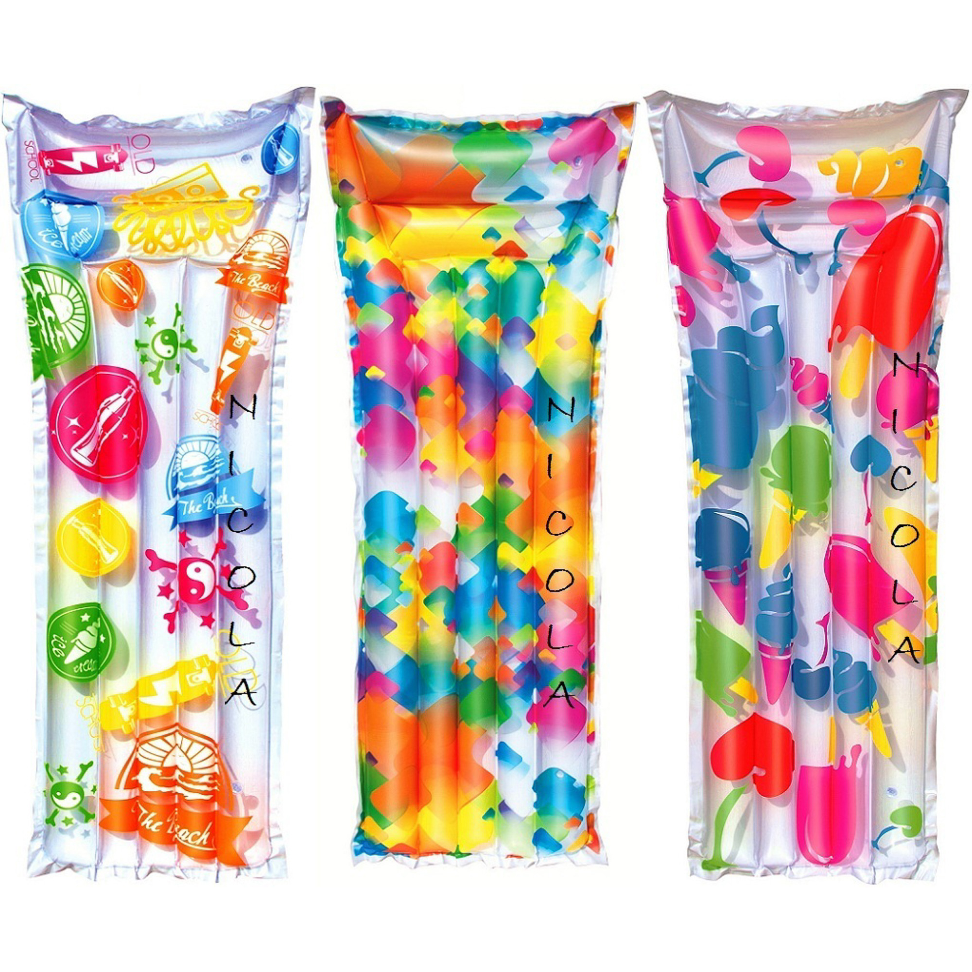 Матрас надувной Best way в трёх расцветках 183х69 см (44033)