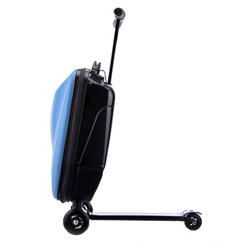 Фото - Чемодан-самокат PROFFI синий 58х35,5х32,5 см чемодан proffi kingsize xl 110 л черный