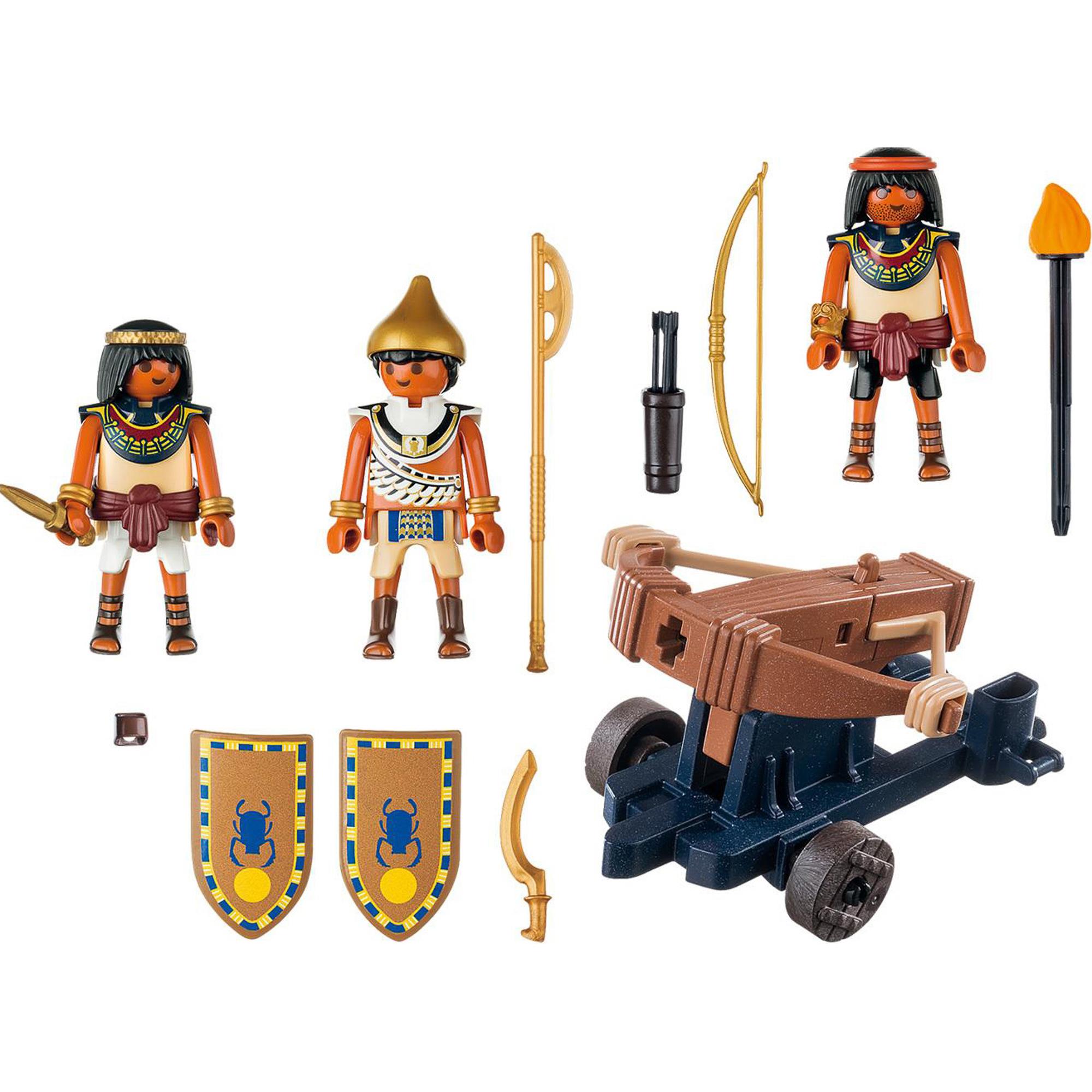 Фото - Игровой набор Playmobil Египетский солдат с Баллистой playmobil игровой набор фермер с домашними животными