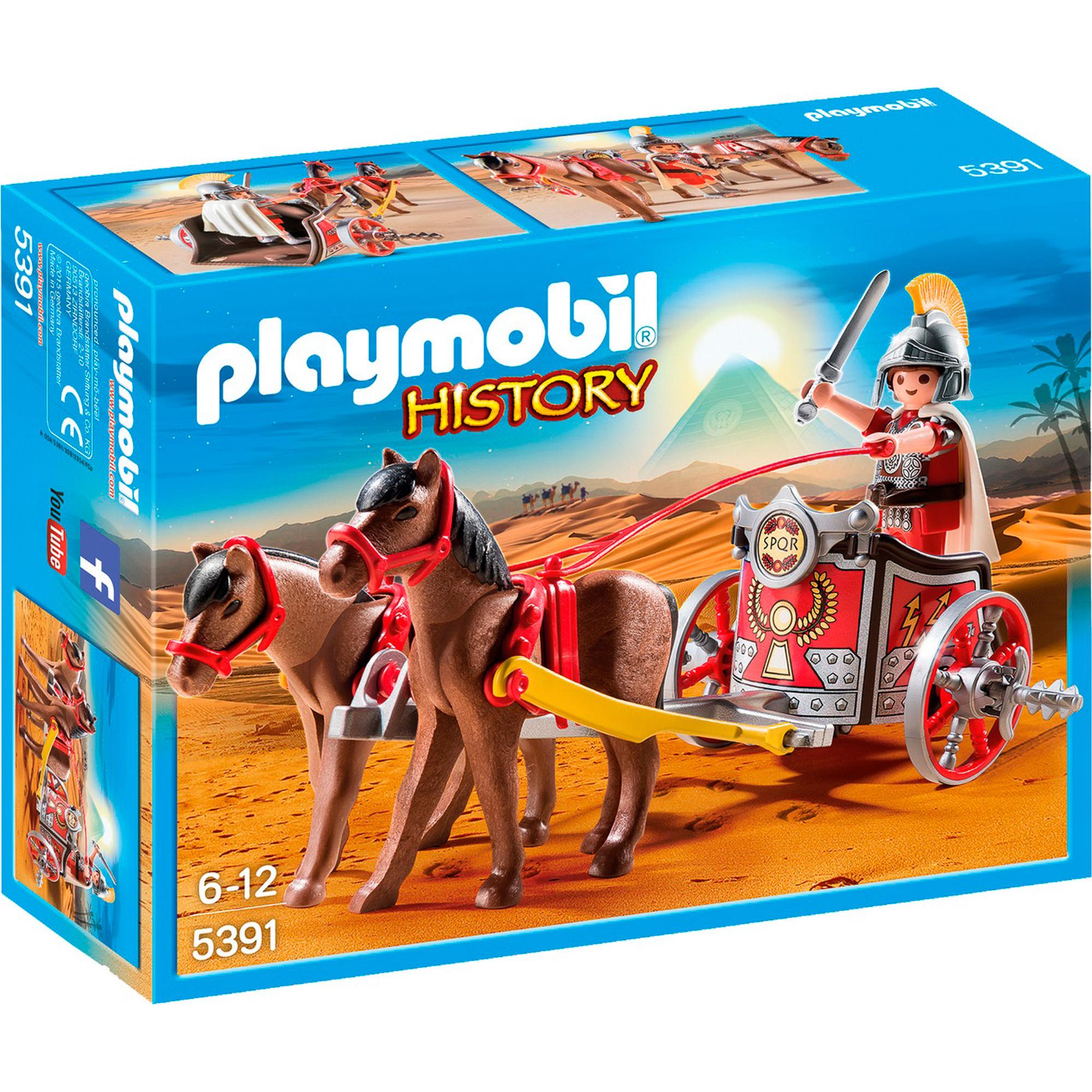 Фото - Игровой набор Playmobil Римская Колесница playmobil игровой набор фермер с домашними животными
