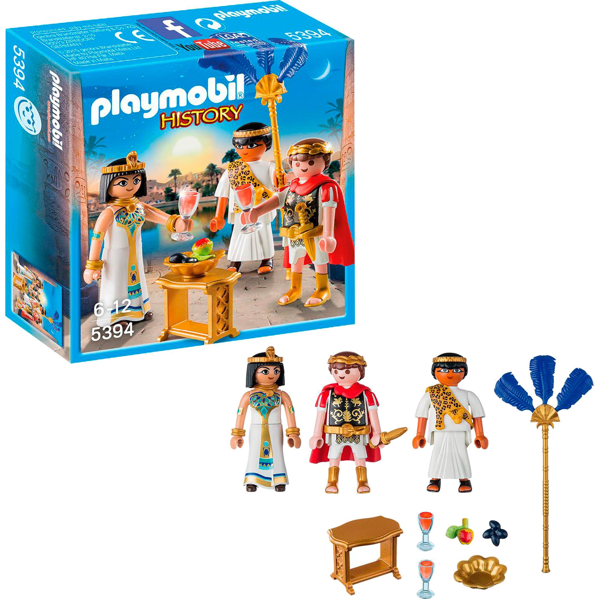 Игровой набор Playmobil Цезарь и Клеопатра шоу б pygmalion caesar and cleopatra пигмалион цезарь и клеопатра