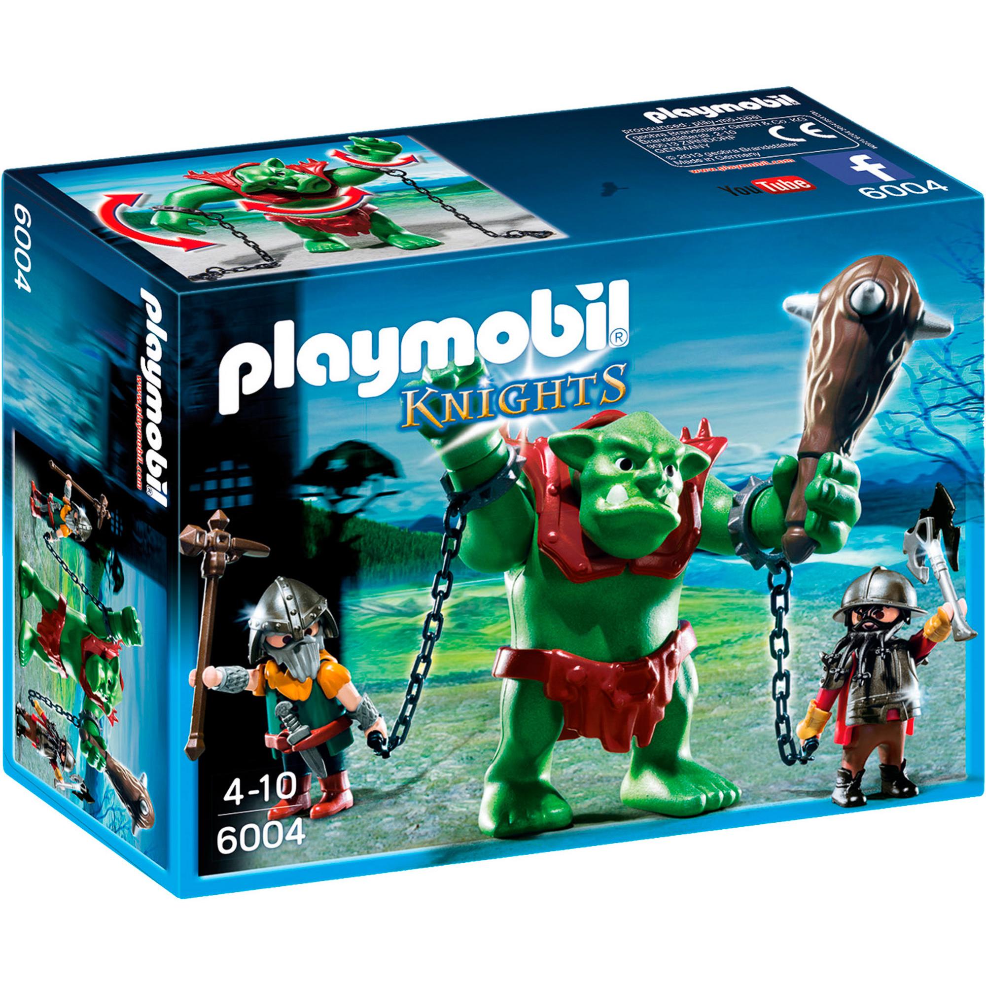 Конструктор Playmobil Гигантский тролль и боевые гномы