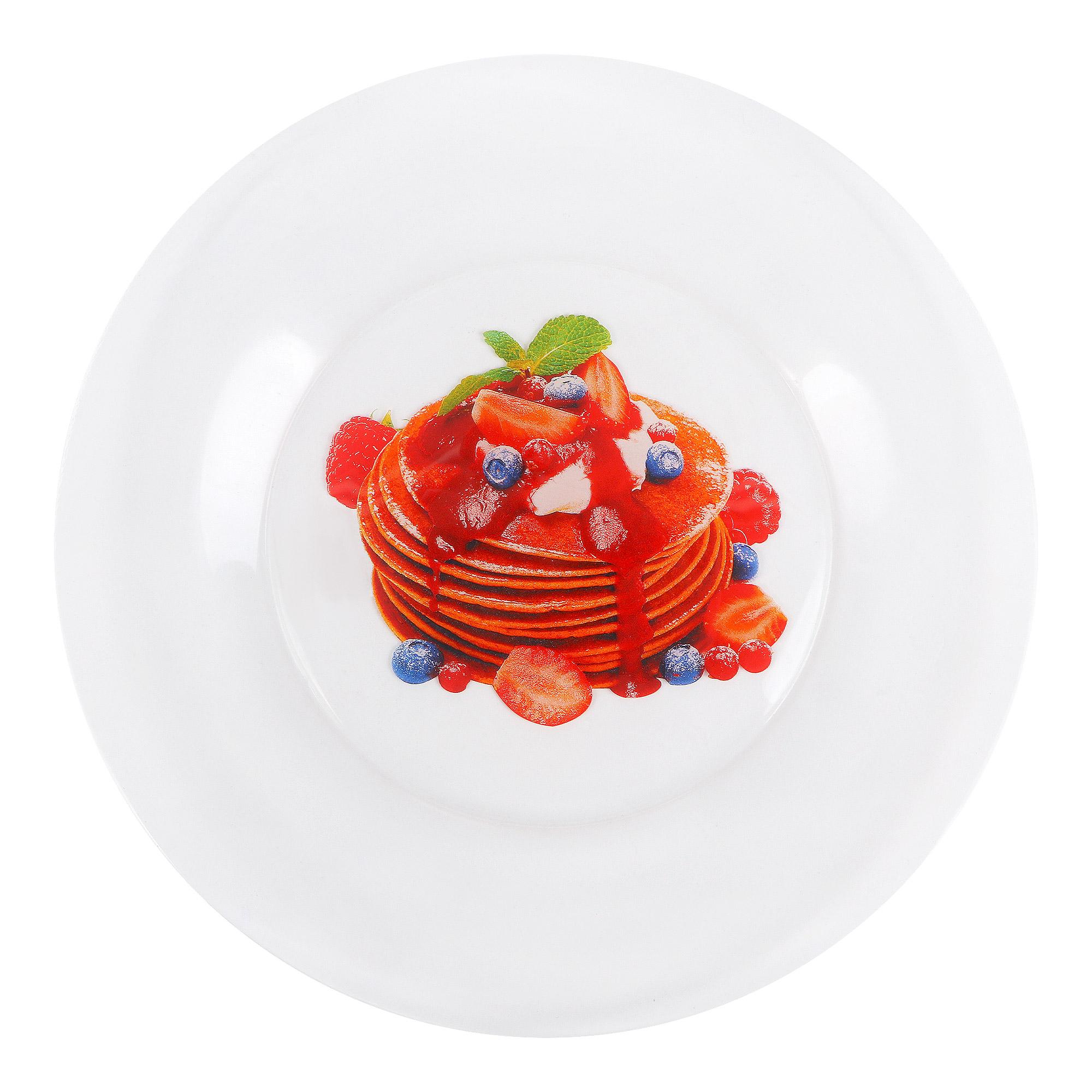 Тарелка обеденная ОСЗ Масленица 25 см фото