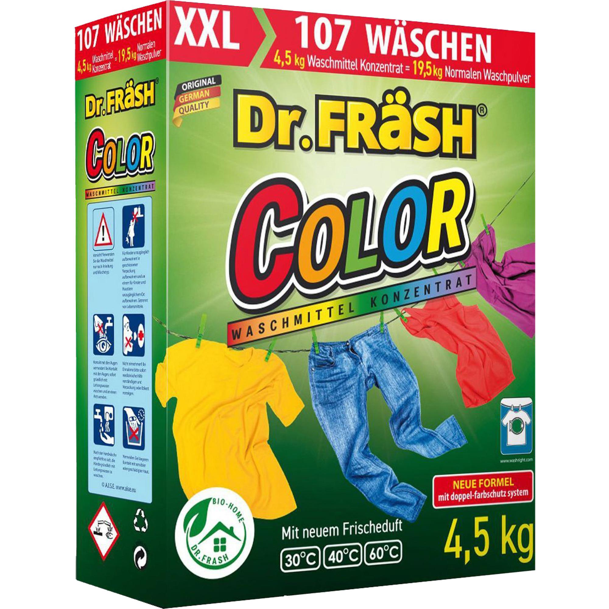 Порошок стиральный Dr.Frash Color автомат 4,5 кг недорого