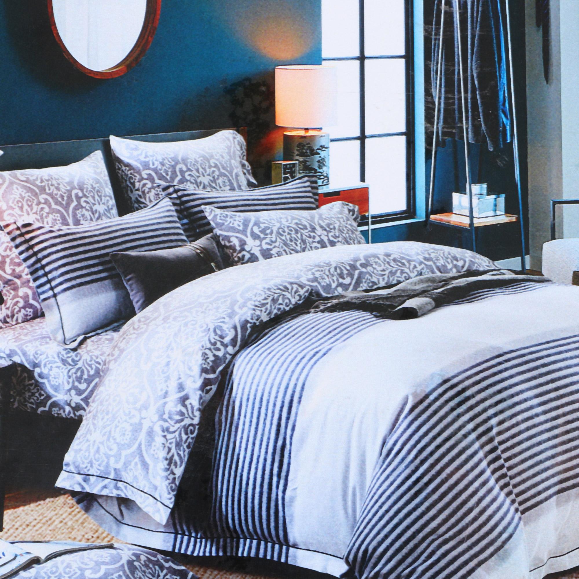 Постельный комплект Laroche двуспальный евро Цветной
