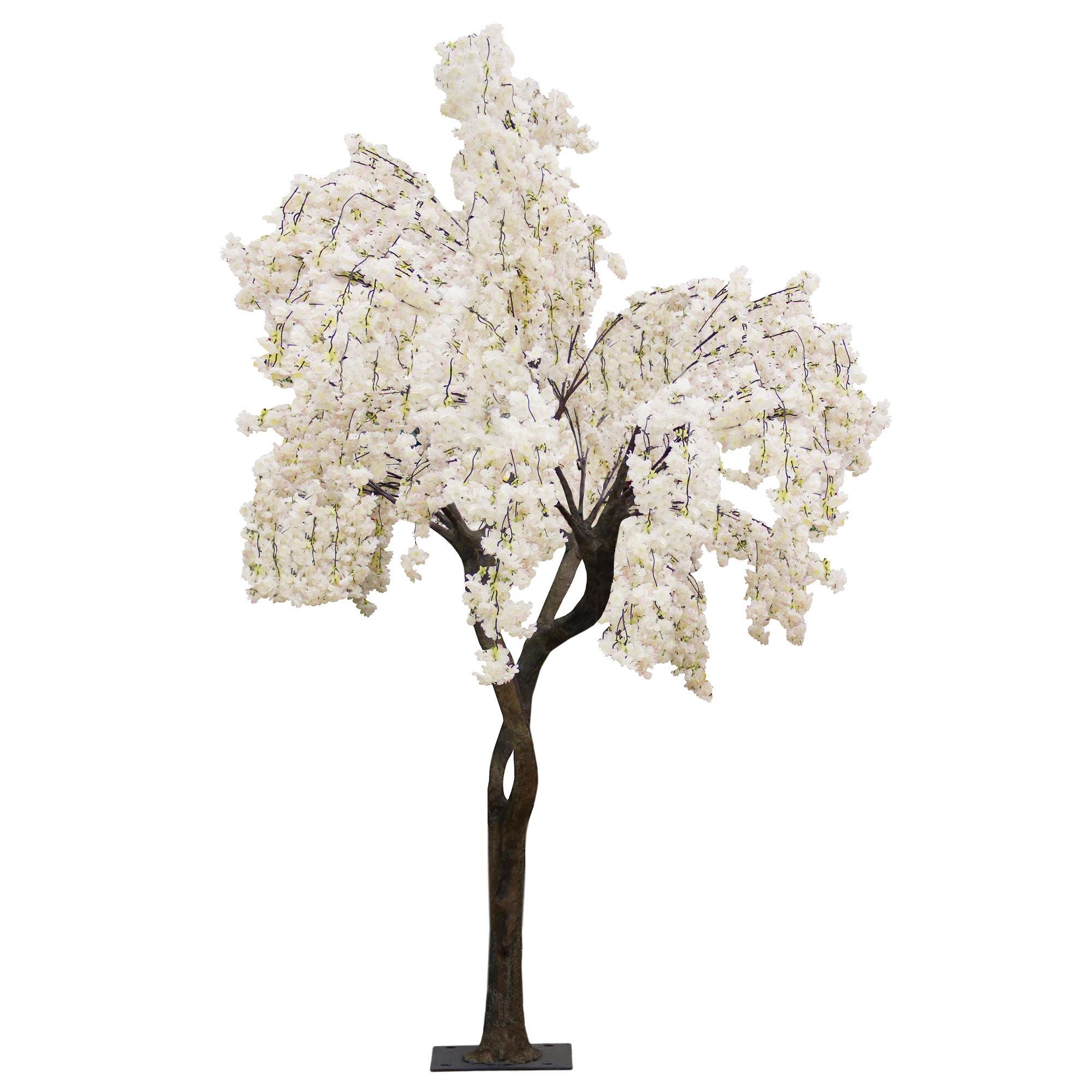 Дерево искусственное цветущее  Beijing shenglin 3м бело-розового цвета