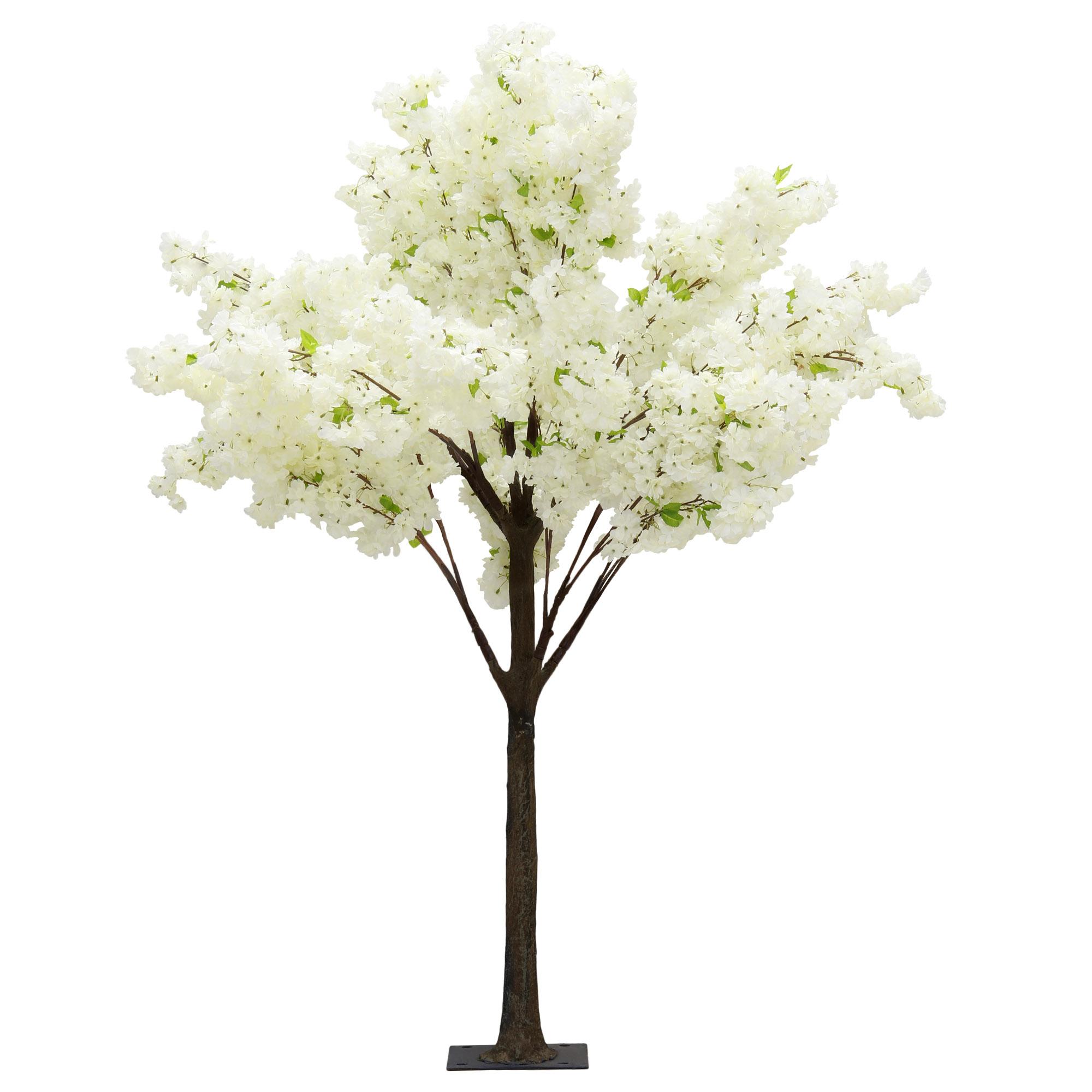 Дерево искусственное цветущее  Beijing shenglin 1.8м белого цвета