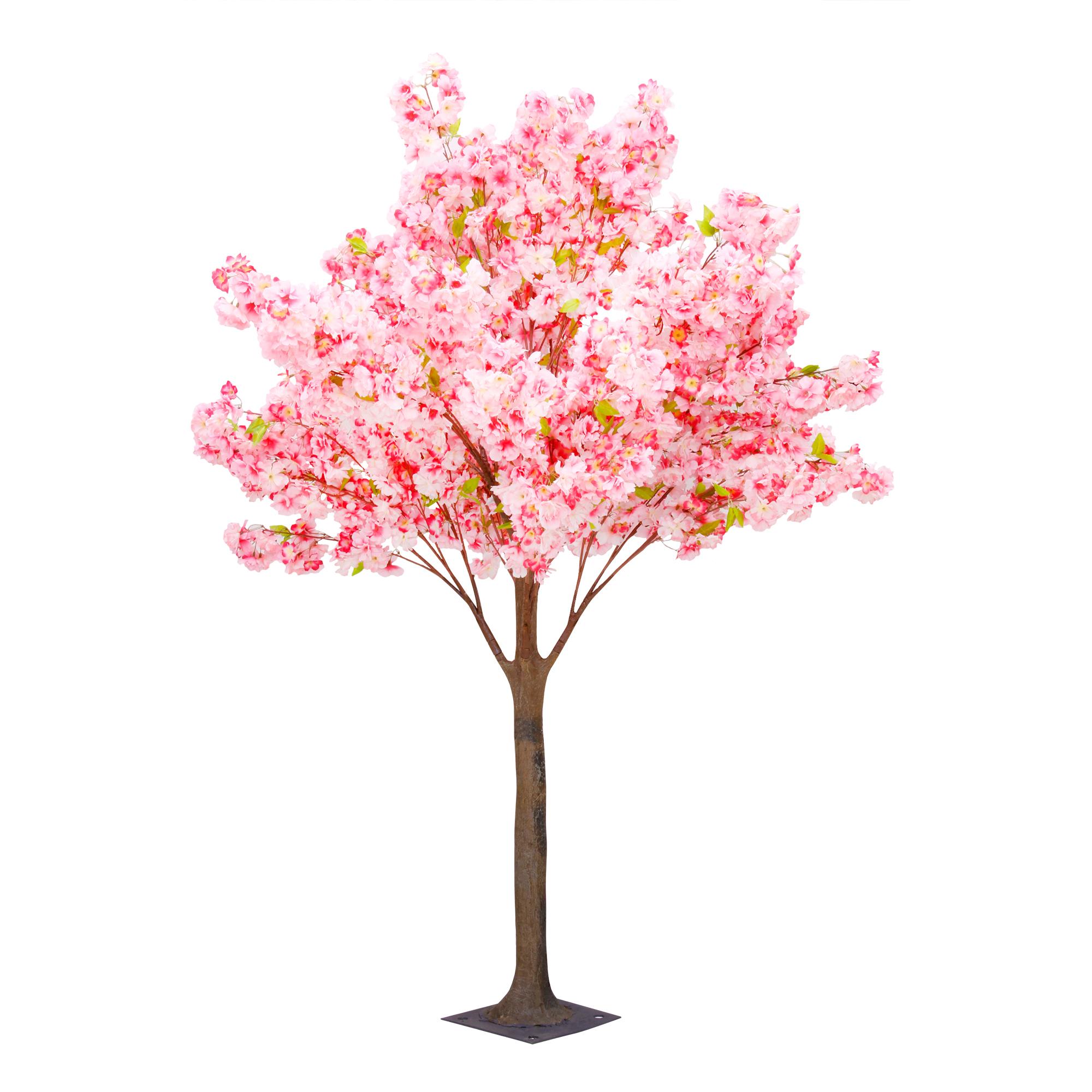 Дерево искусственное цветущее  Beijing shenglin 1.8м розового цвета