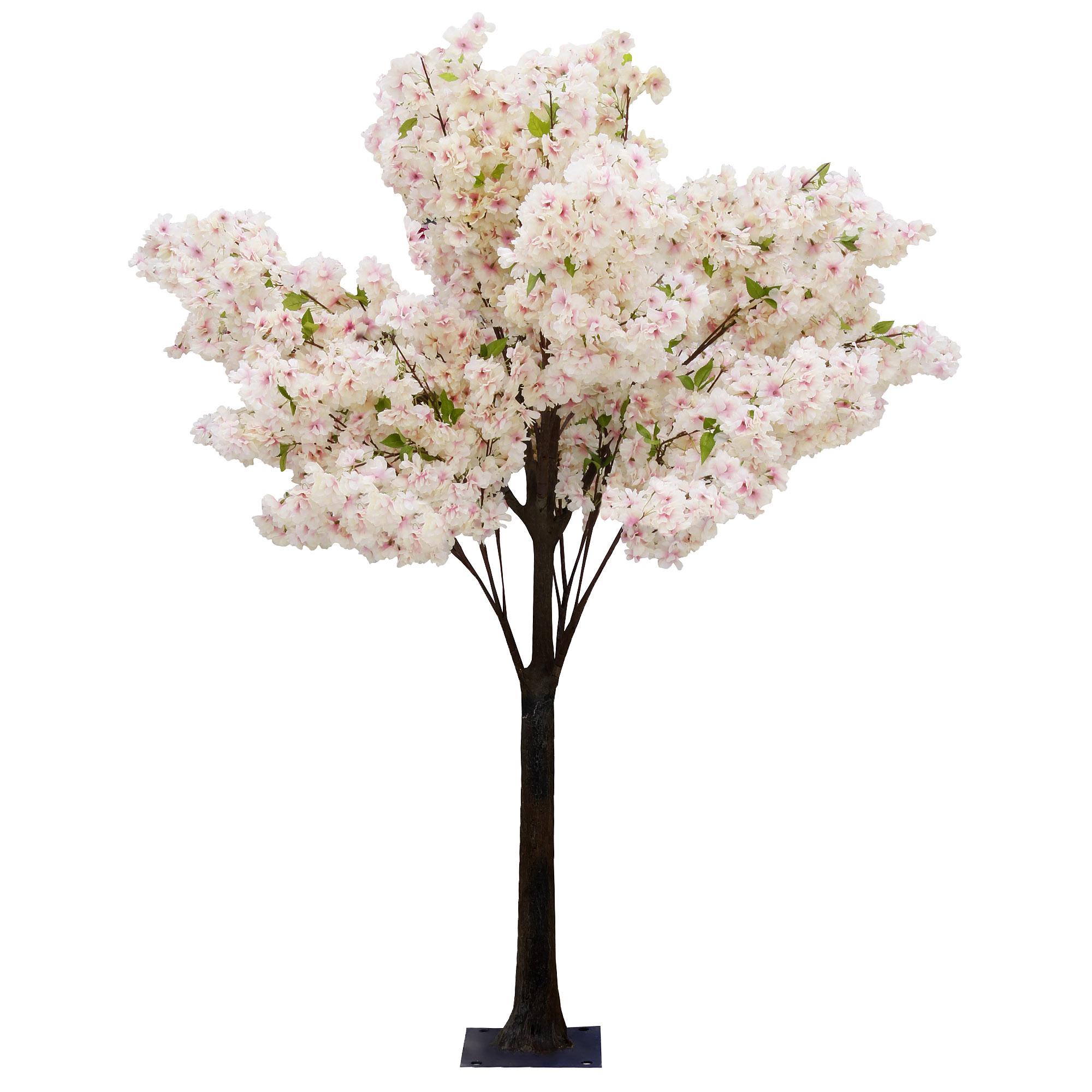 Дерево искусственное цветущее  Beijing shenglin 1.8м персикового цвета