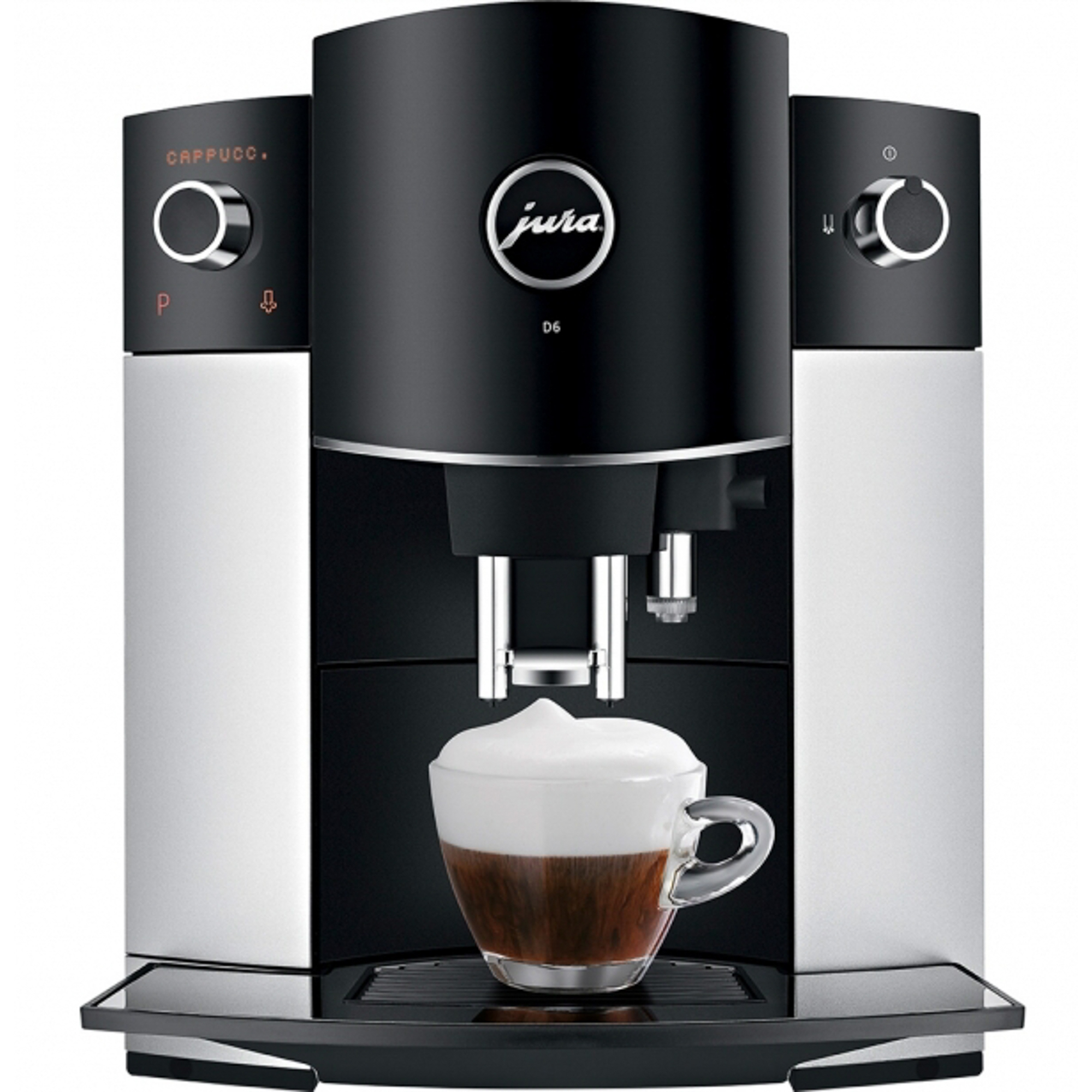 Кофемашина Jura D6 Platin EU 15181 кофемашина jura e6 platin 15058