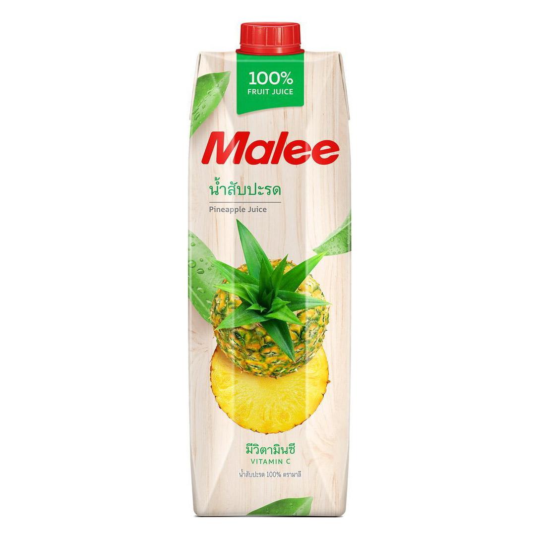 Cок Malee ананас прямого отжима 1 л malee сок личи 0 33 л