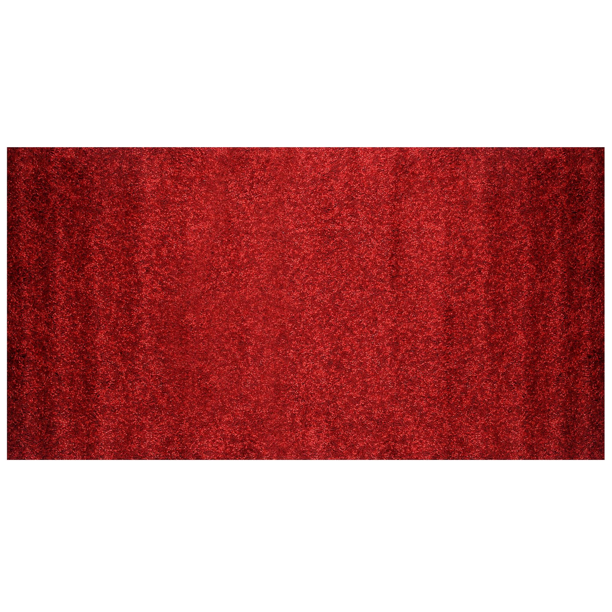 Коврик красный Abc curly 150х80