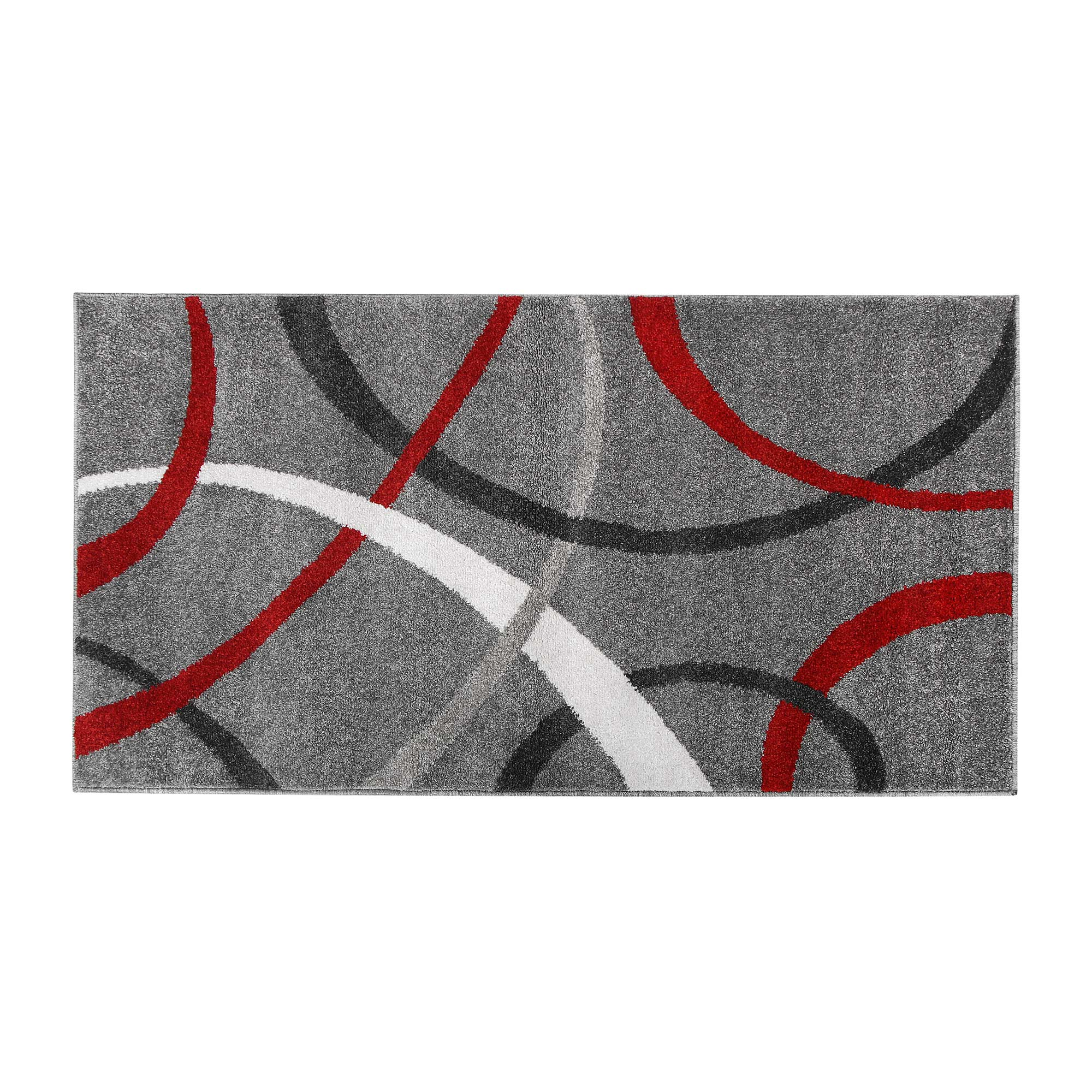 Фото - Коврик темно-серый/красный Abc tr terra 80х150 коврик серый 80x50 abc la cucina zen