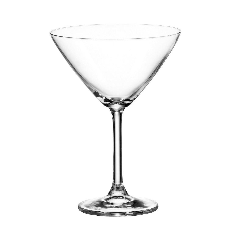 Набор бокалов для мартини Crystalite Bohemia Гастро Колибри, 6шт., 280мл фото