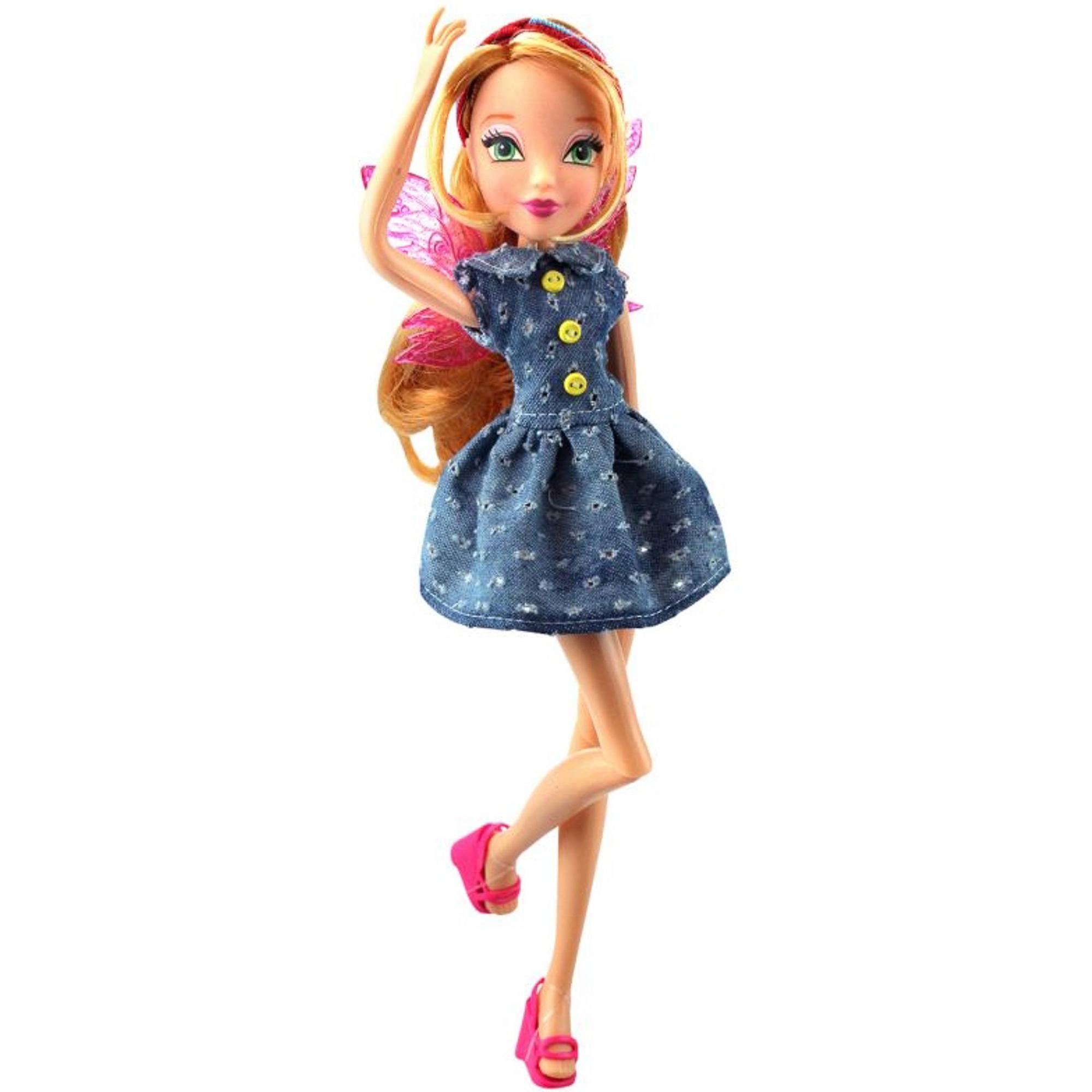 Кукла Winx Club Стильная штучка Флора