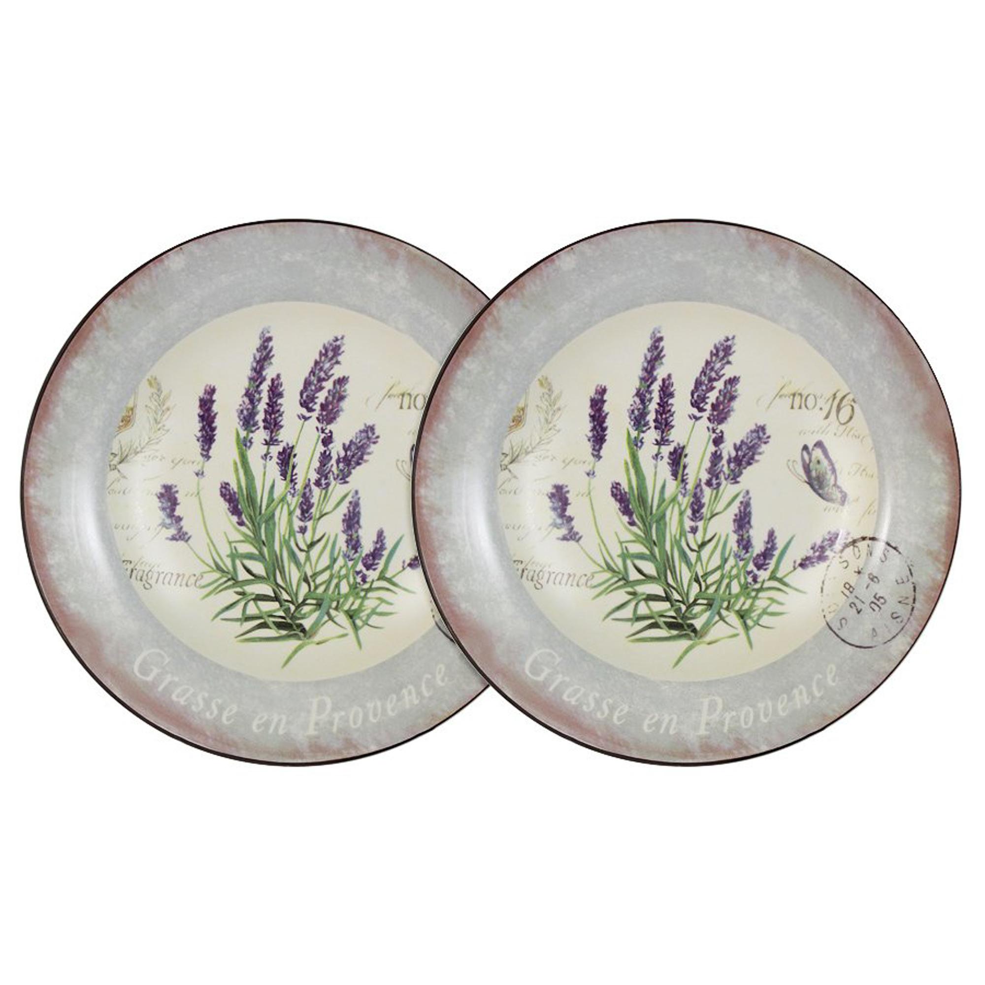 Набор из 2-х суповых тарелок Anna Lafarg Лаванда 21 см