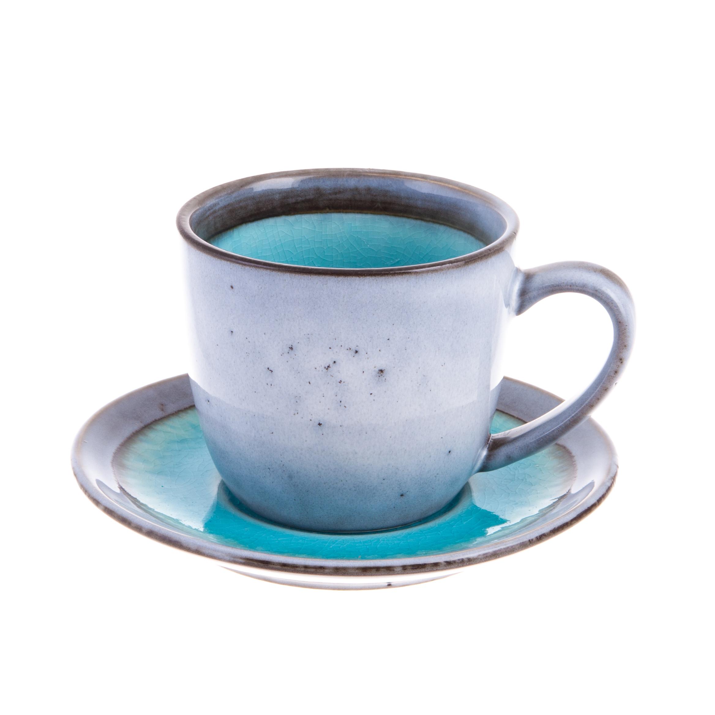 Чашка с блюдцем 0,24л Easy life origin фото