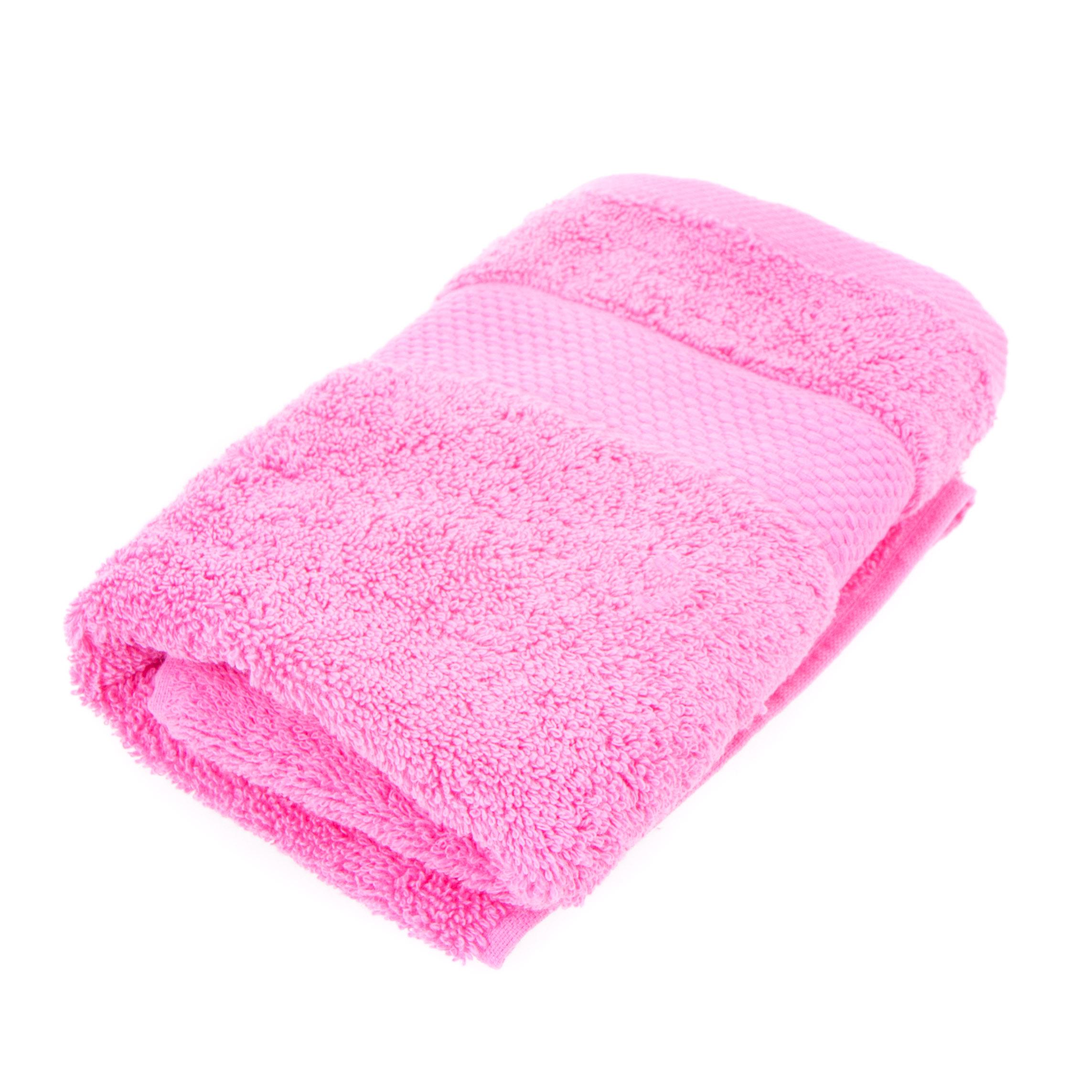 Фото - Полотенце махровое 100x150 pink Cogal полотенце valentini 100x150 aqua 1228