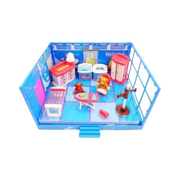 Игровой набор ABtoys Гладильная комната набор мебели счастливые друзья для кухни с аксесс abtoys