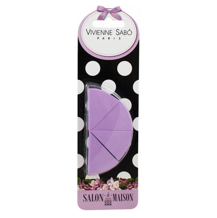 Набор треугольных спонжей для макияжа Vivienne Sabo 4 шт недорого