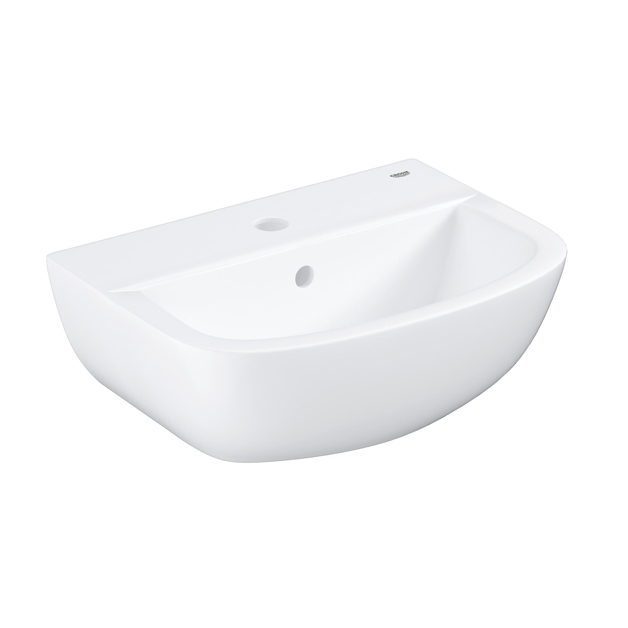 Купить Мини-раковина GROHE Bau Ceramic 45 см, альпин-белый (39424000), Раковины санфаянс, Вьетнам, сантехнический фарфор
