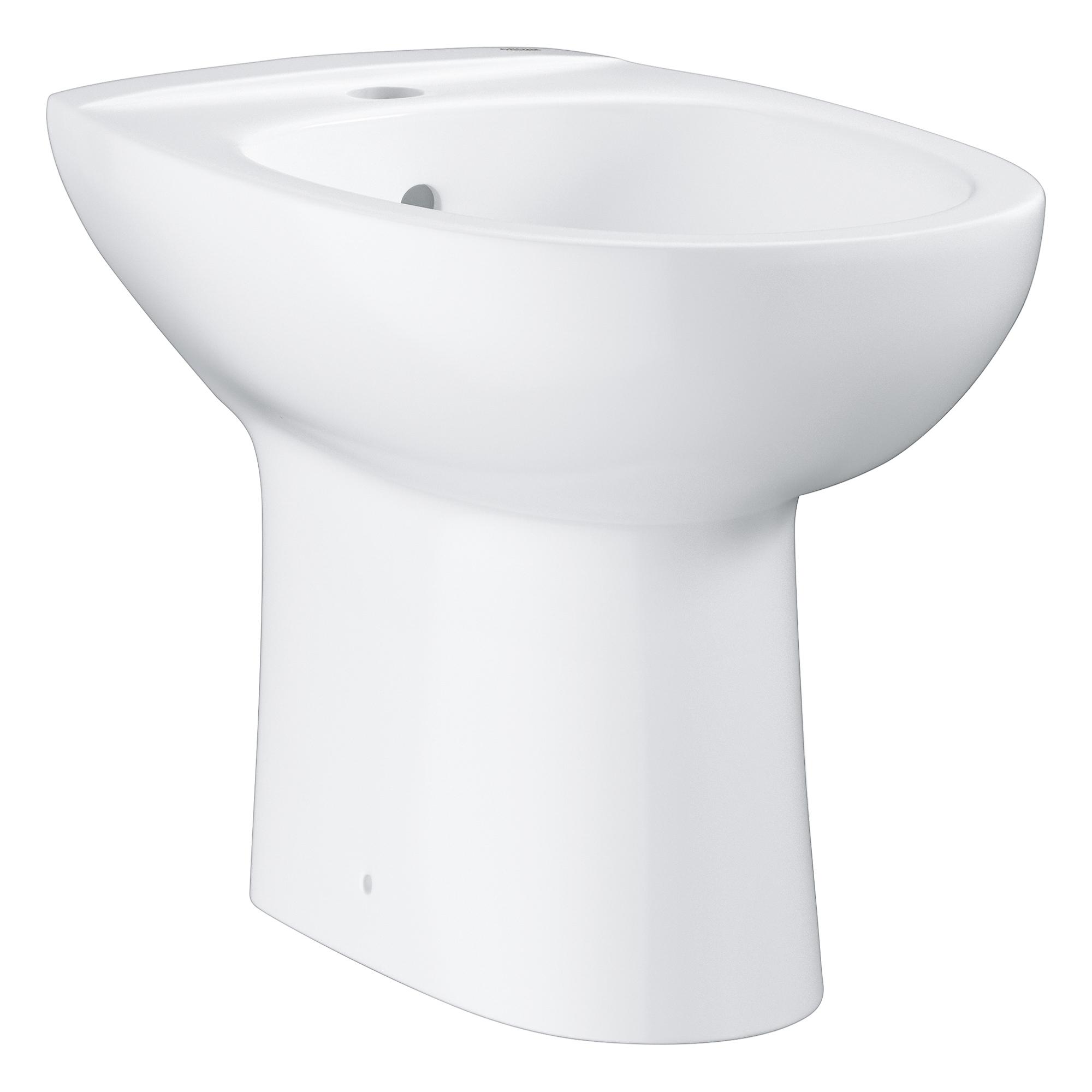 Купить Напольное биде GROHE Bau Ceramic, альпин-белый (39432000), Биде напольные, Вьетнам, сантехнический фарфор