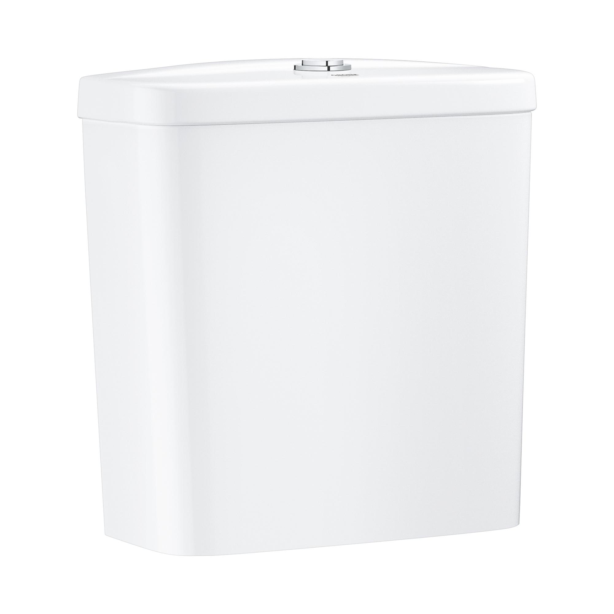 Купить Смывной бачок для унитаза GROHE Bau Ceramic, подводка снизу, альпин-белый (39436000), Вьетнам, сантехнический фарфор