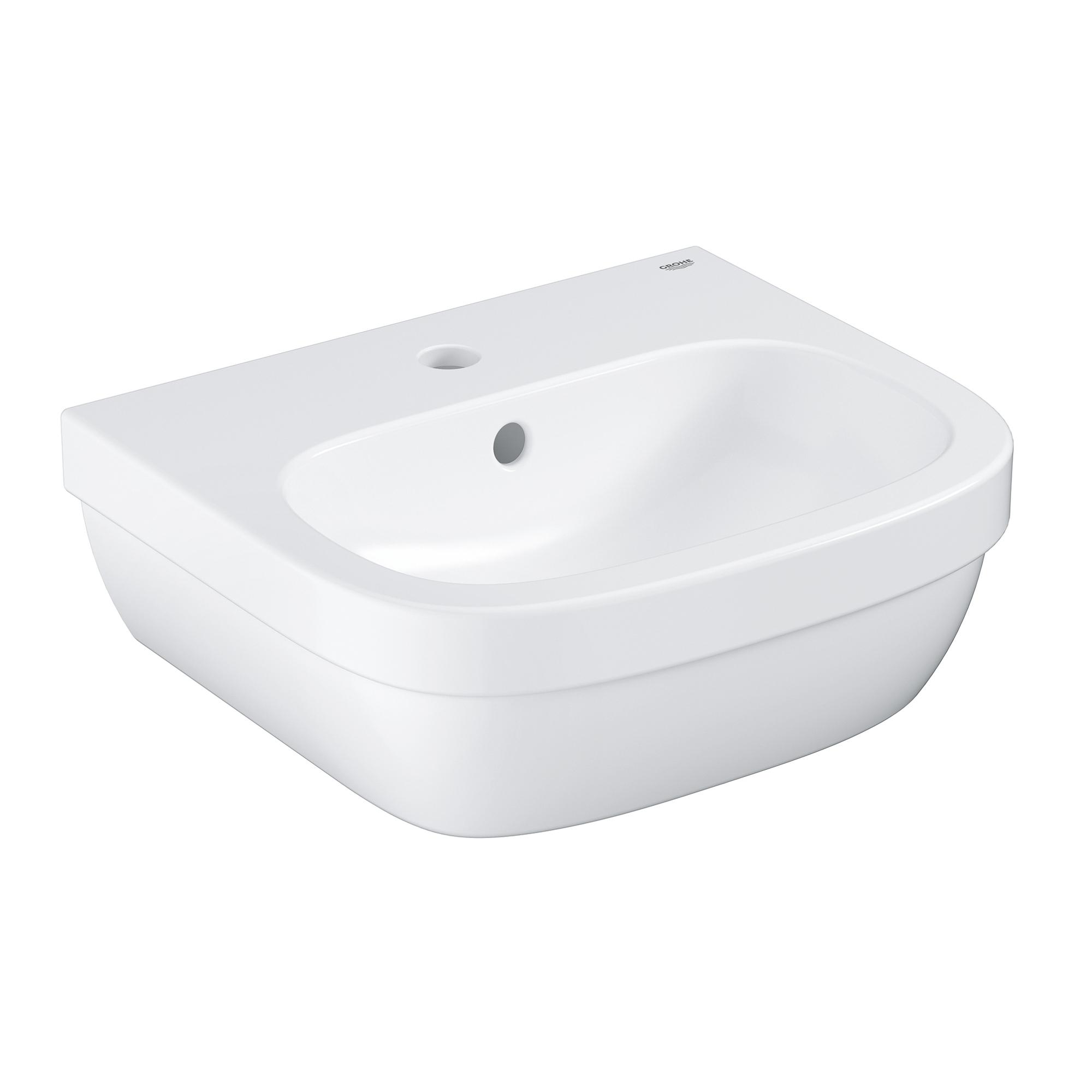 Купить Мини-раковина GROHE Euro Ceramic 45 см, альпин-белый (39324000), Раковины санфаянс, Вьетнам, сантехнический фарфор