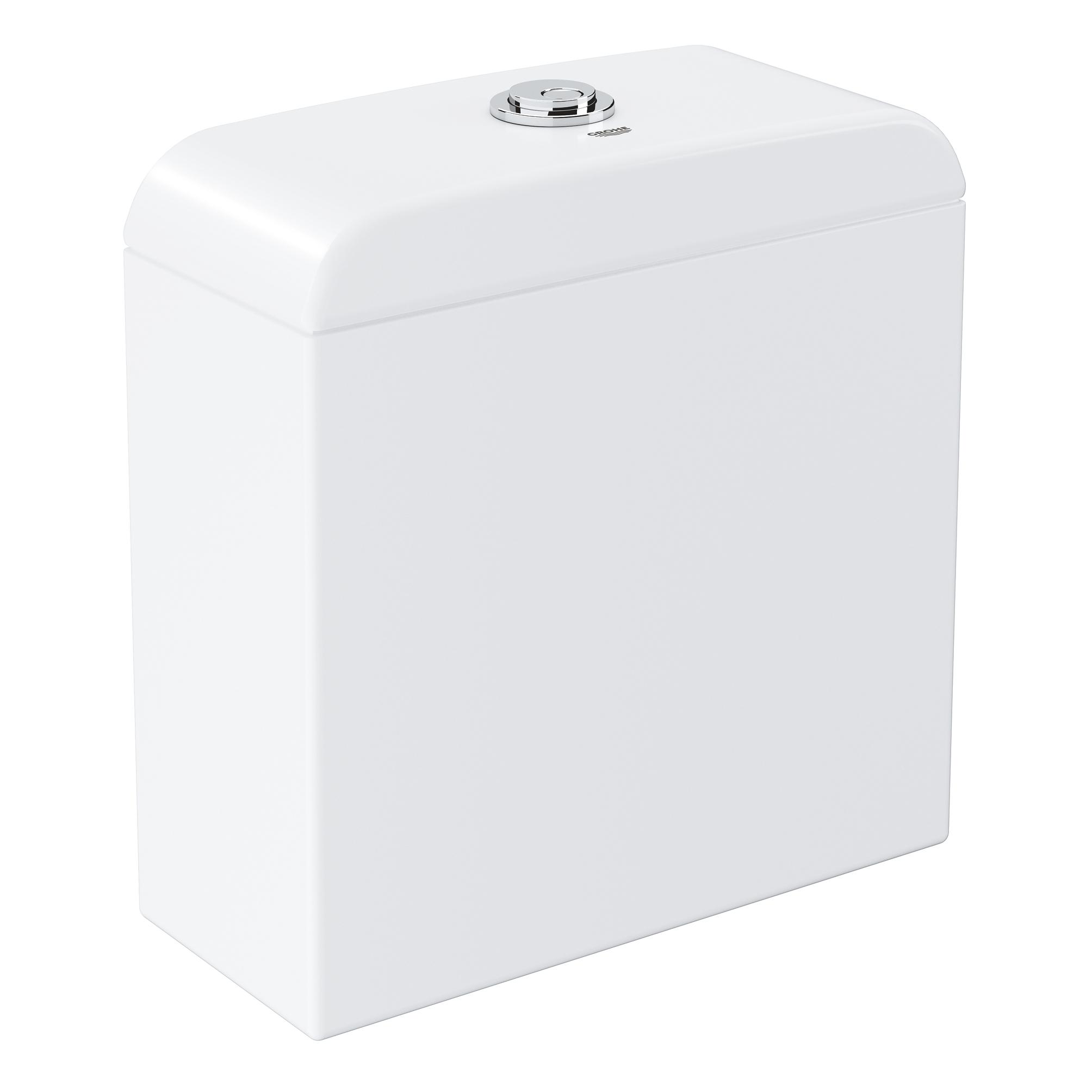 Купить Смывной бачок для унитаза GROHE Euro Ceramic, подводка снизу, альпин-белый (39332000), Вьетнам, сантехнический форфор