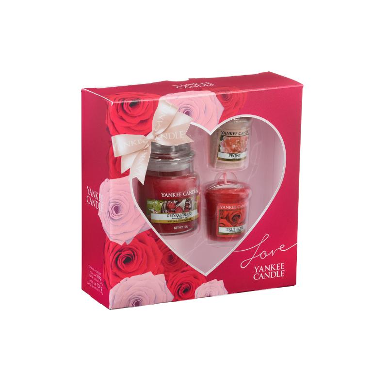 Набор подарочный Yankee candle Весеннее настроение набор тарелок роза и малина