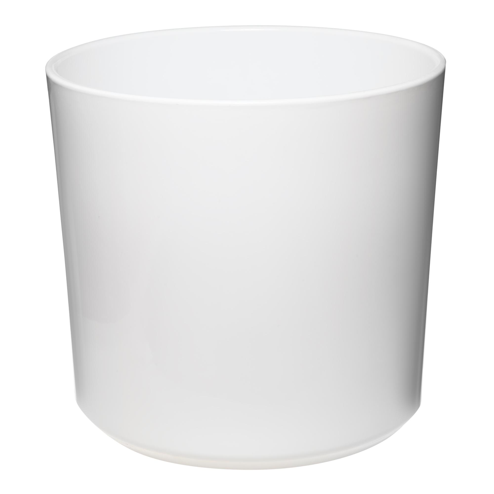 Кашпо Soendgen las vegas d37 глянцевый белый недорого