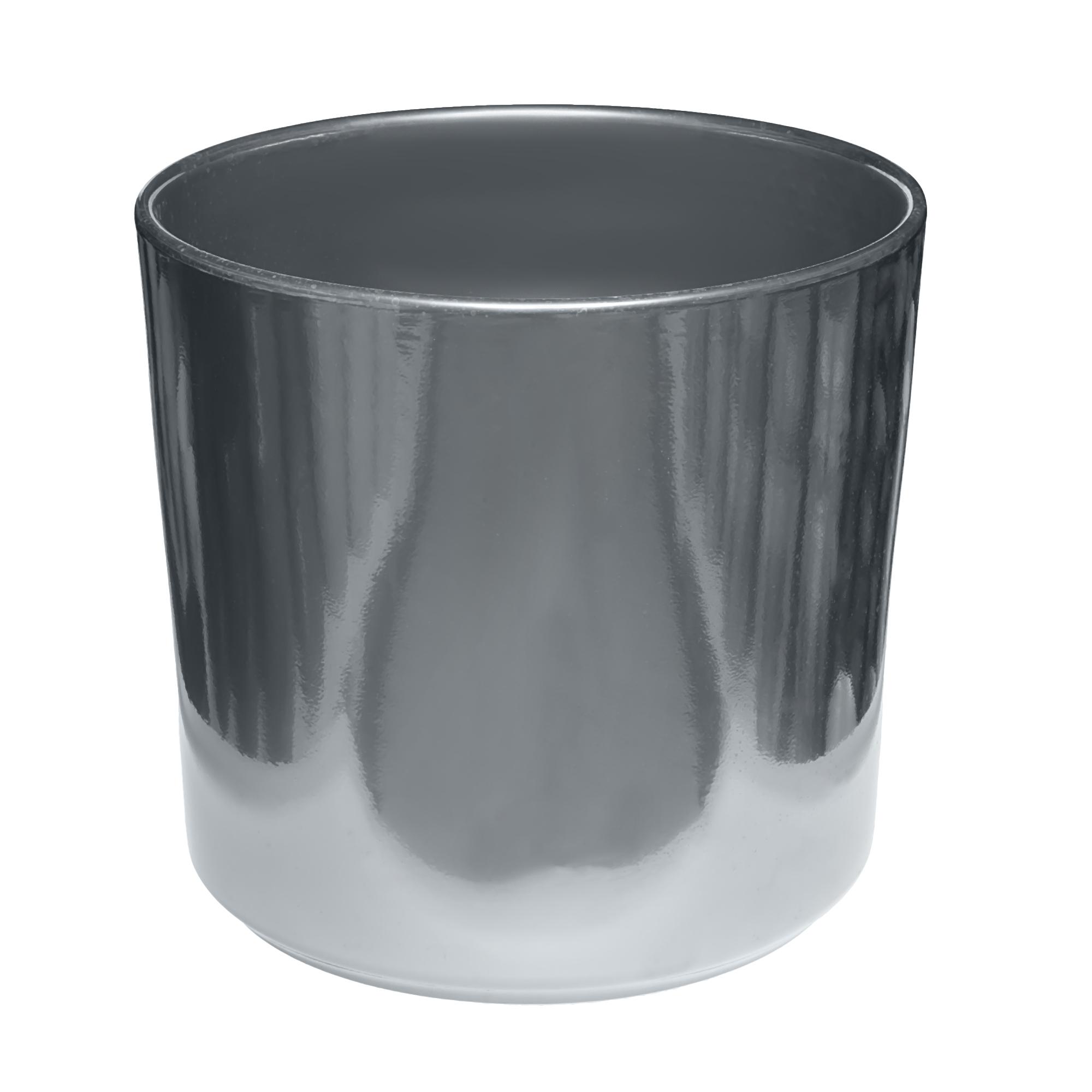 Кашпо Soendgen las vegas d37 глянцевый серебряный недорого