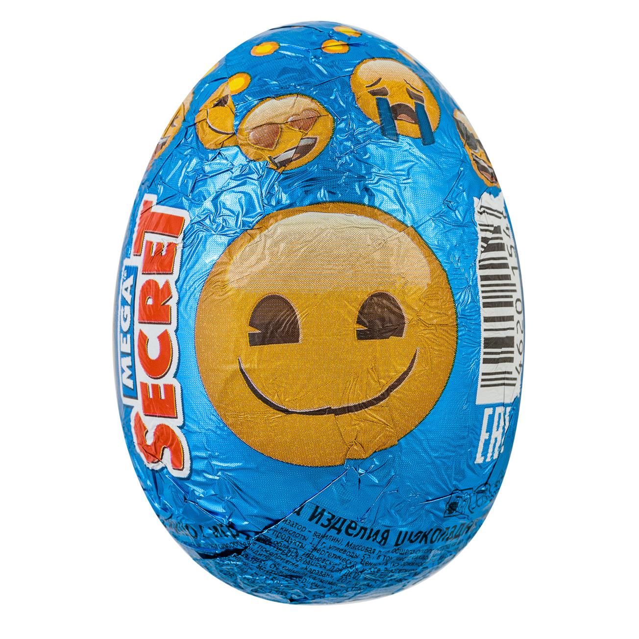 Шоколадное яйцо Emoji с игрушкой 20 г