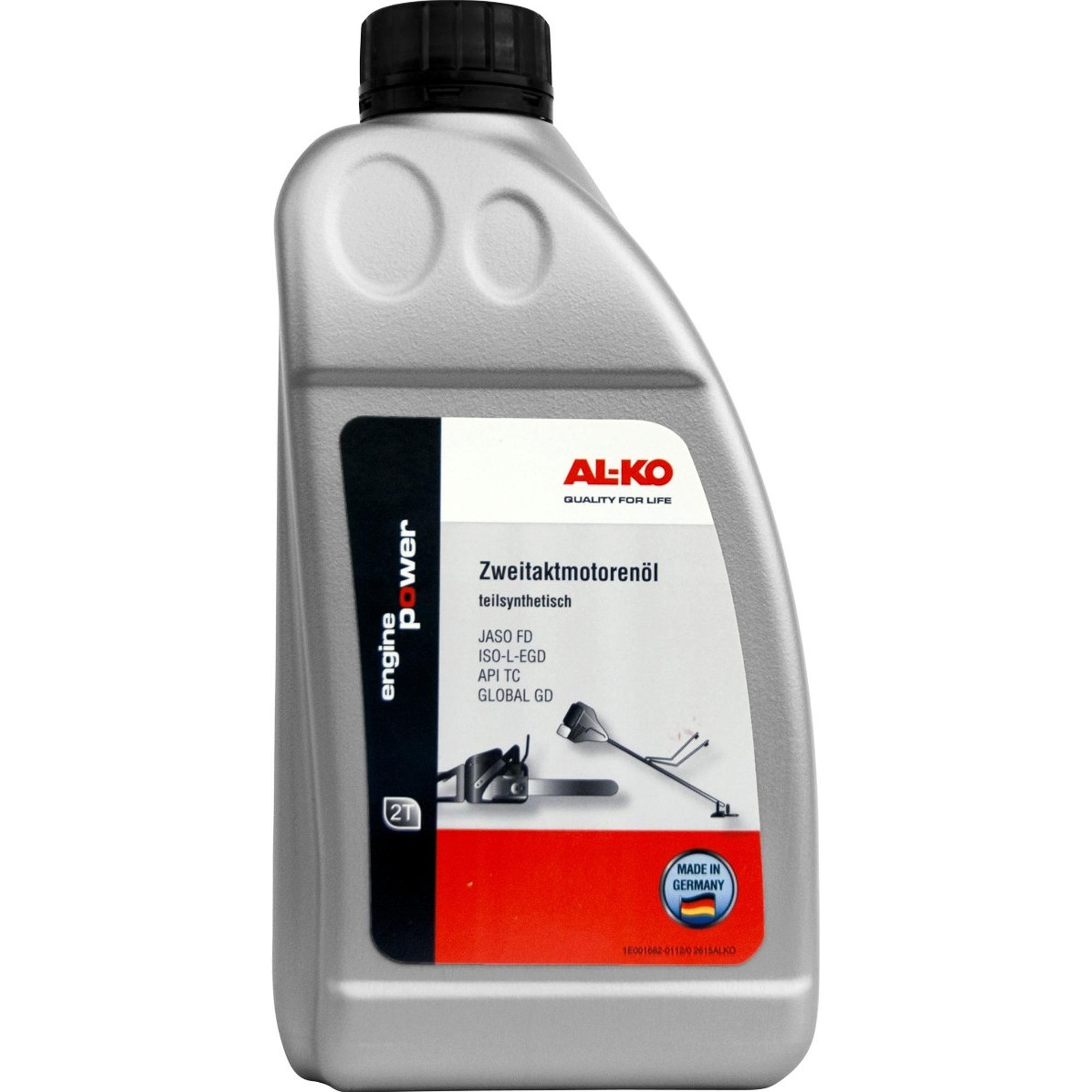 Масло AL-KO для 2-тактных мотокос и цепных пил 1 л аксессуар для цепных пил dde 647 727