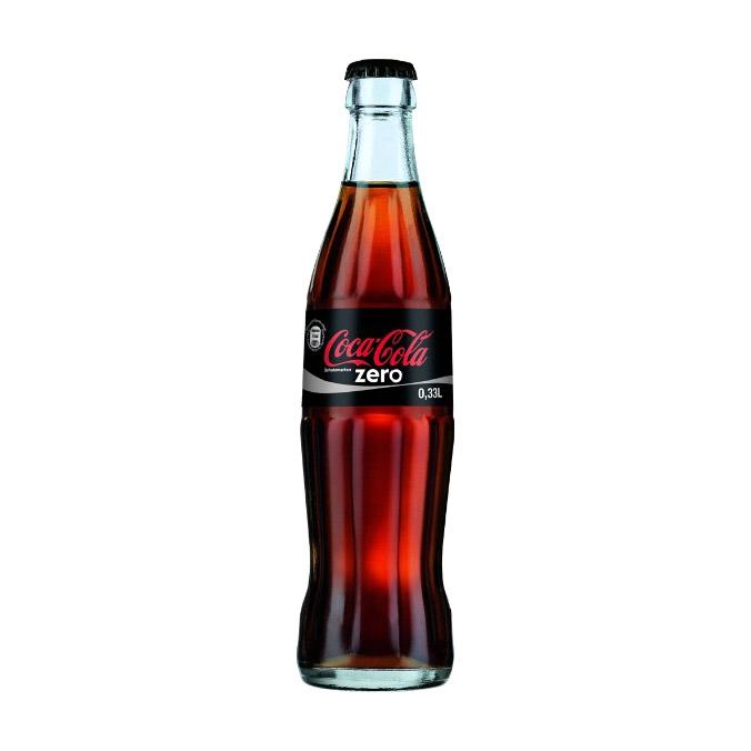 Напиток газированный Coca-Cola Zero 0,33 л газированный напиток coca cola vanilla сша 0 355 л 12 шт