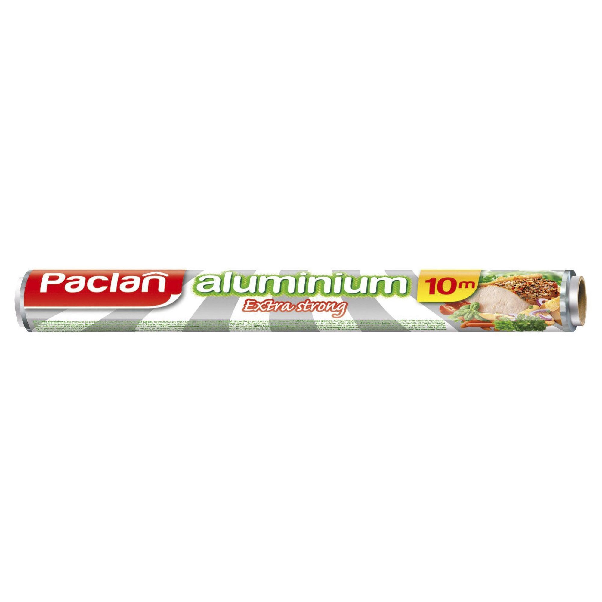 Алюминиевая фольга Paclan Extra Strong 10м х 29см