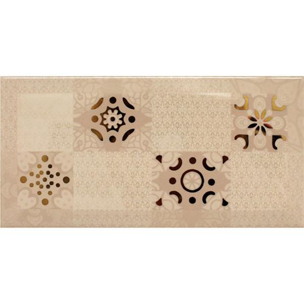 Декор Absolut Keramika Ornamento Beige 10x20 см