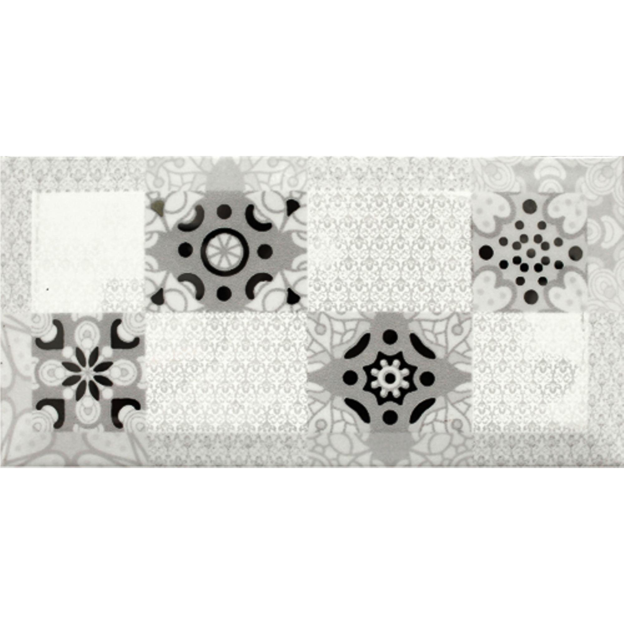 Декор Absolute Keramika Monocolor Ornamento Blanco 10x20 см