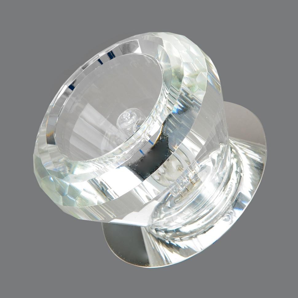Светильник точечный666-cl-cr Elvan светильник точечный675 cl gd elvan